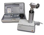 Otoskop a   ophtalmoskop